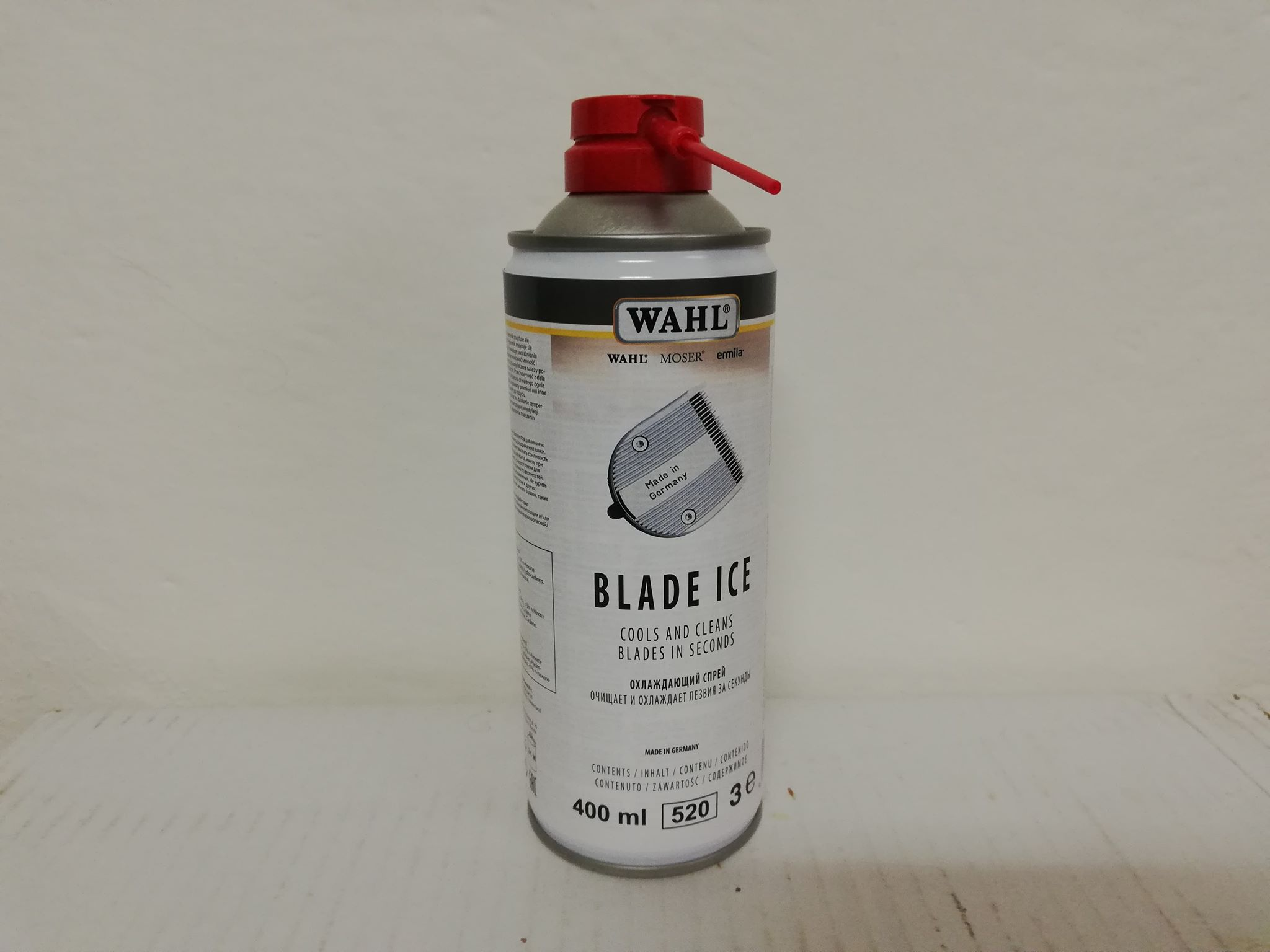 WAHL BLADE ICE spray na strihací strojček