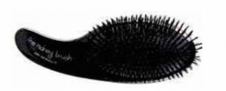 Olivia Garden The Kidney Brush Dry Detangler Black Edition - kefa na vlasy