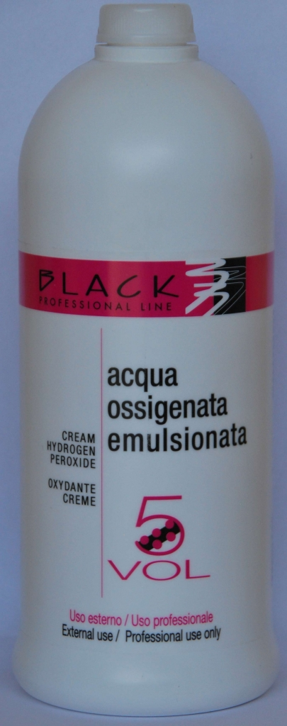 Black Cream Hydrogen Peroxide 5VOL 1000ml