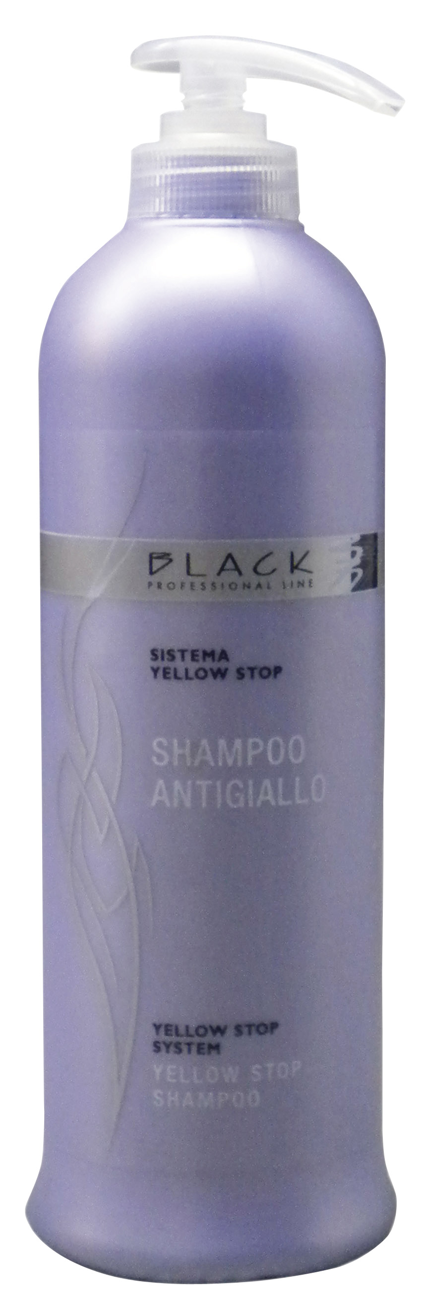 Black Yellow Stop Shampoo 500ml šampón na vlasy