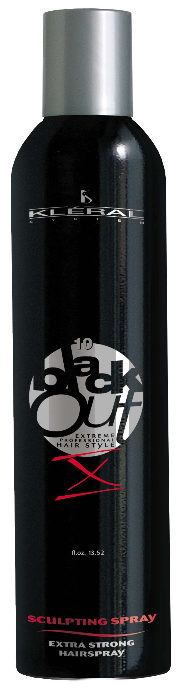 Kléral Black Out Sculpting Spray X 400 ml - lak na vlasy