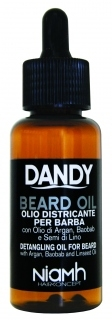 Niamh Hairkoncept Dandy Beard Oil 70 ml - olej na bradu a fúzy