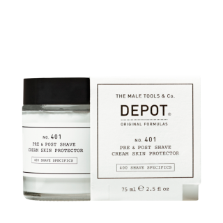 Depot NO.401 Pre & Post Shave Cream Skin Protector 75ml