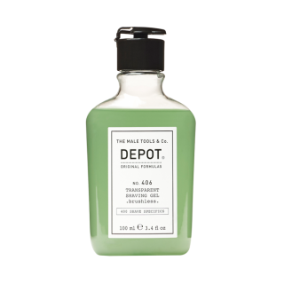 Depot NO.406 Transparent Shaving Gel 200ml