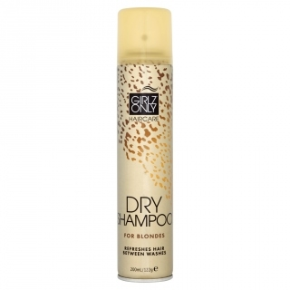 GIRLZ ONLY dry shampoo FOR BLONDES