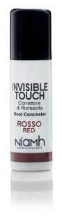Niamh Hairkoncept Invisible Touch Root Concealer Red 75 ml - korektor na vlasy červený