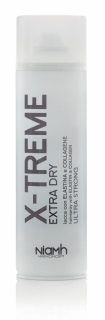 Niamh Hairkoncept X-Treme Extra Dry Hairspray With Elastin & Collagen Ultra Strong 500 ml - lak na vlasy