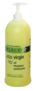 Black Virgin Oil Shampoo 1000ml - šampón na vlasy