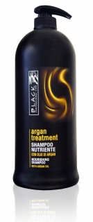 Black Argan Treatment Shampoo 1000 ml - arganový šampón