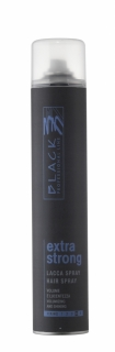 Black Hair Spray Extra Strong 500ml - lak na vlasy