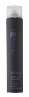 Black Hair Spray Strong 750ml - lak na vlasy