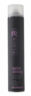 Black Hair Spray Extra Strong 750ml - lak na vlasy