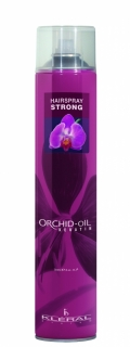 Kléral Hair Spray Strong Orchid-Oil Keratin 750 ml - lak na vlasy