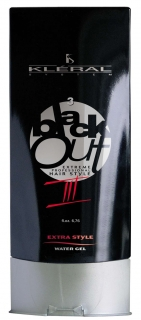 Kléral Black Out Extra Style Water Gel III 200 ml - gél na vlasy